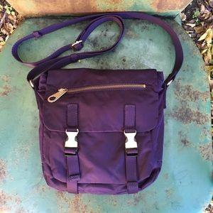Gap Purple Nylon Crossbody
